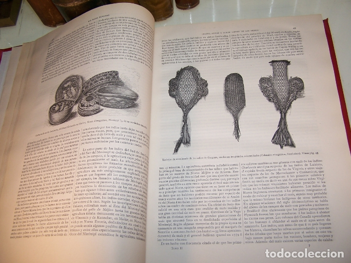Libros antiguos: Las razas humanas. Federico Ratzel. 2 tomos. Montaner y Simon. Barcelona. 1888. - Foto 18 - 170858015