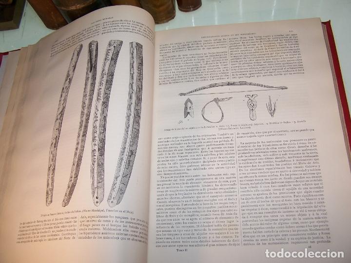 Libros antiguos: Las razas humanas. Federico Ratzel. 2 tomos. Montaner y Simon. Barcelona. 1888. - Foto 19 - 170858015