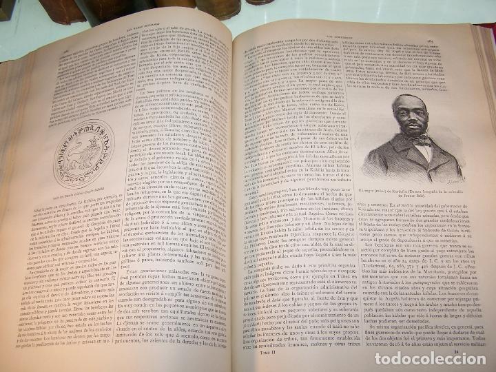 Libros antiguos: Las razas humanas. Federico Ratzel. 2 tomos. Montaner y Simon. Barcelona. 1888. - Foto 22 - 170858015