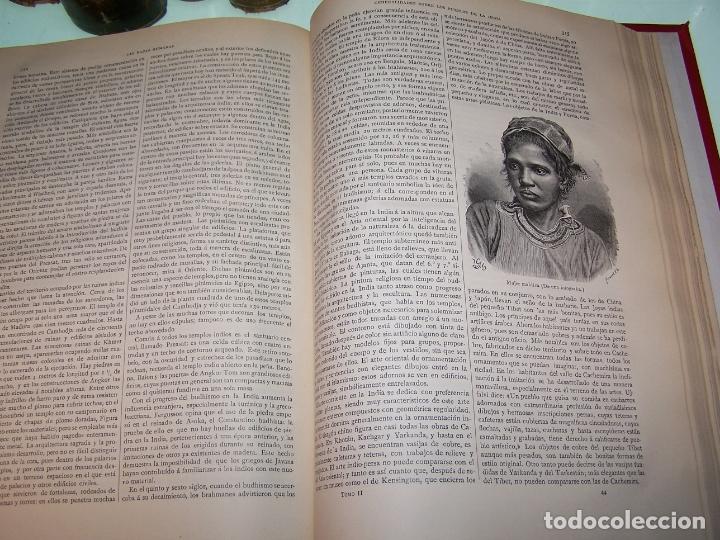 Libros antiguos: Las razas humanas. Federico Ratzel. 2 tomos. Montaner y Simon. Barcelona. 1888. - Foto 23 - 170858015