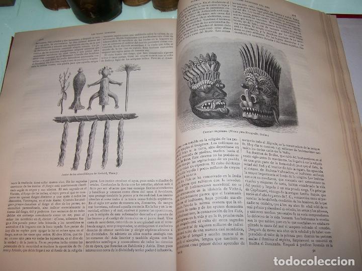 Libros antiguos: Las razas humanas. Federico Ratzel. 2 tomos. Montaner y Simon. Barcelona. 1888. - Foto 24 - 170858015