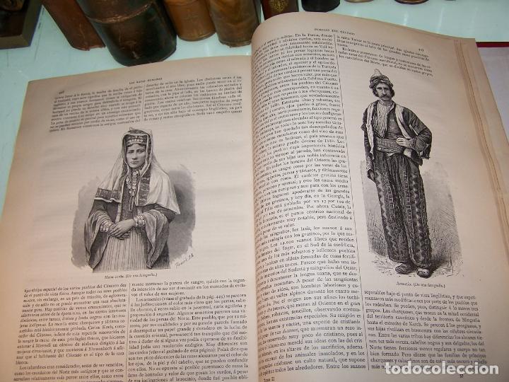 Libros antiguos: Las razas humanas. Federico Ratzel. 2 tomos. Montaner y Simon. Barcelona. 1888. - Foto 25 - 170858015