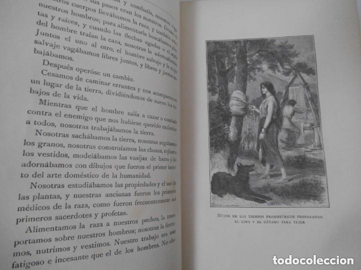 Libros antiguos: SCHREINER : LA MUJER Y EL TRABAJO -REFLEXIONES SOBRE LA CUESTIÓN FEMINISTA (MONTANER Y SIMÓN, 1914) - Foto 5 - 171700444