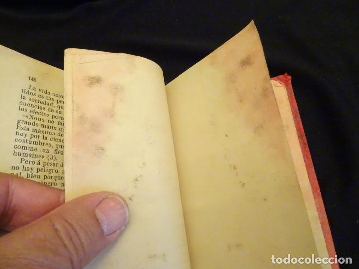 Libros antiguos: años 1906- 1910. lote de 3 libros sociología.degeneracio alcoholismo. genesis leyes penales. - Foto 11 - 172755423