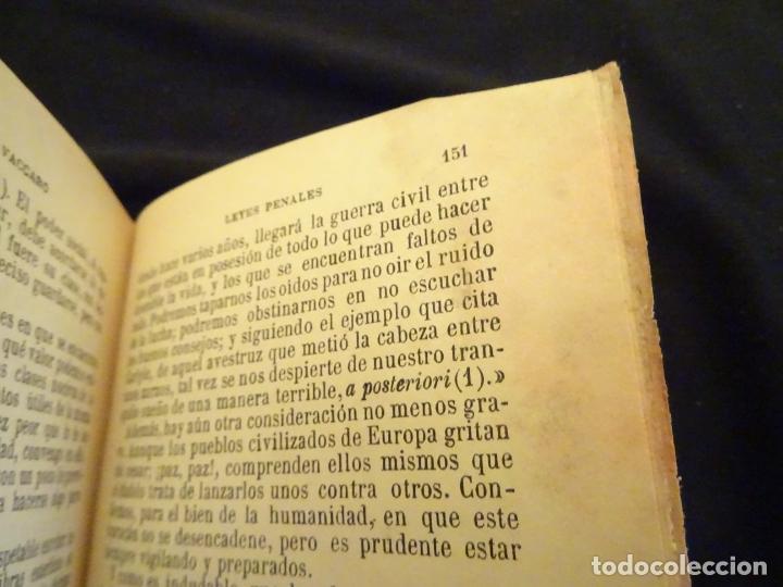 Libros antiguos: años 1906- 1910. lote de 3 libros sociología.degeneracio alcoholismo. genesis leyes penales. - Foto 12 - 172755423