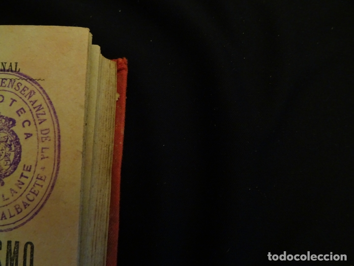Libros antiguos: años 1906- 1910. lote de 3 libros sociología.degeneracio alcoholismo. genesis leyes penales. - Foto 18 - 172755423