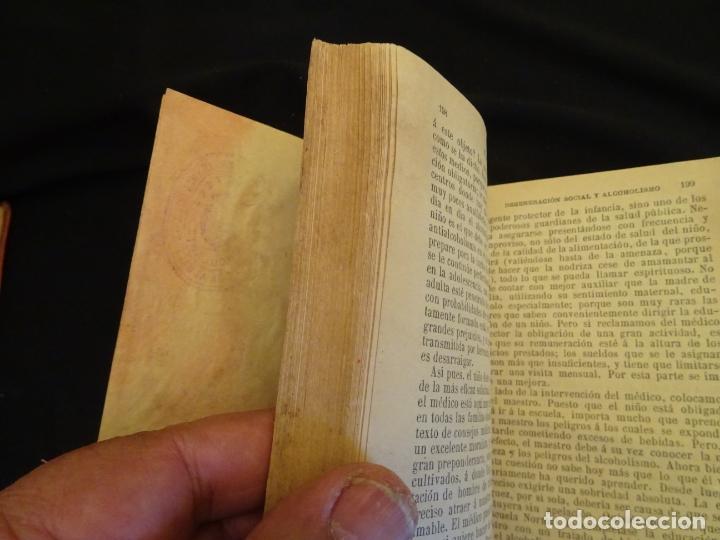 Libros antiguos: años 1906- 1910. lote de 3 libros sociología.degeneracio alcoholismo. genesis leyes penales. - Foto 20 - 172755423