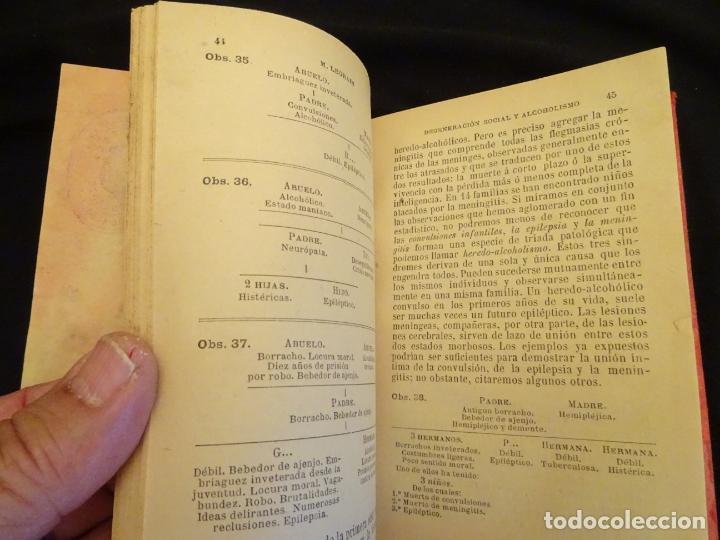Libros antiguos: años 1906- 1910. lote de 3 libros sociología.degeneracio alcoholismo. genesis leyes penales. - Foto 21 - 172755423