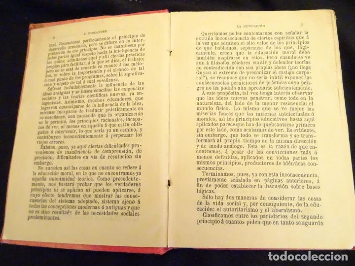Libros antiguos: años 1906- 1910. lote de 3 libros sociología.degeneracio alcoholismo. genesis leyes penales. - Foto 25 - 172755423
