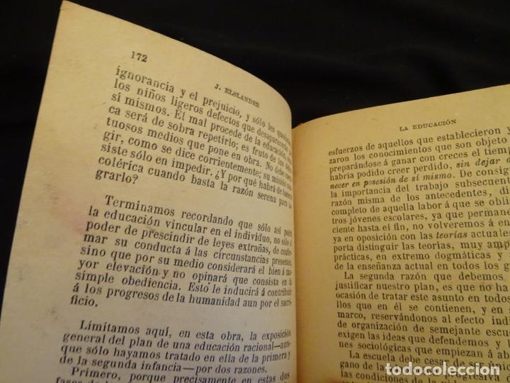 Libros antiguos: años 1906- 1910. lote de 3 libros sociología.degeneracio alcoholismo. genesis leyes penales. - Foto 26 - 172755423