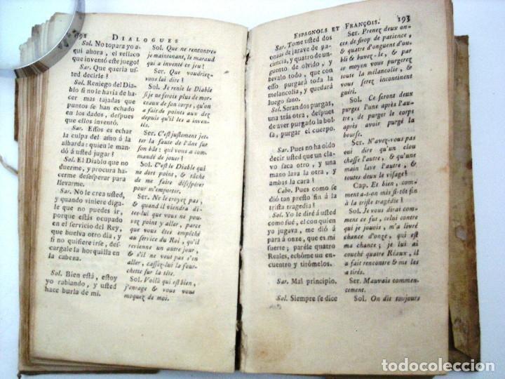 Libros antiguos: SOBRINO - DIALOGOS NUEVOS EN ESPAÑOL Y FRANCES... 1787 - Foto 3 - 172997513