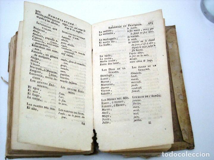 Libros antiguos: SOBRINO - DIALOGOS NUEVOS EN ESPAÑOL Y FRANCES... 1787 - Foto 4 - 172997513