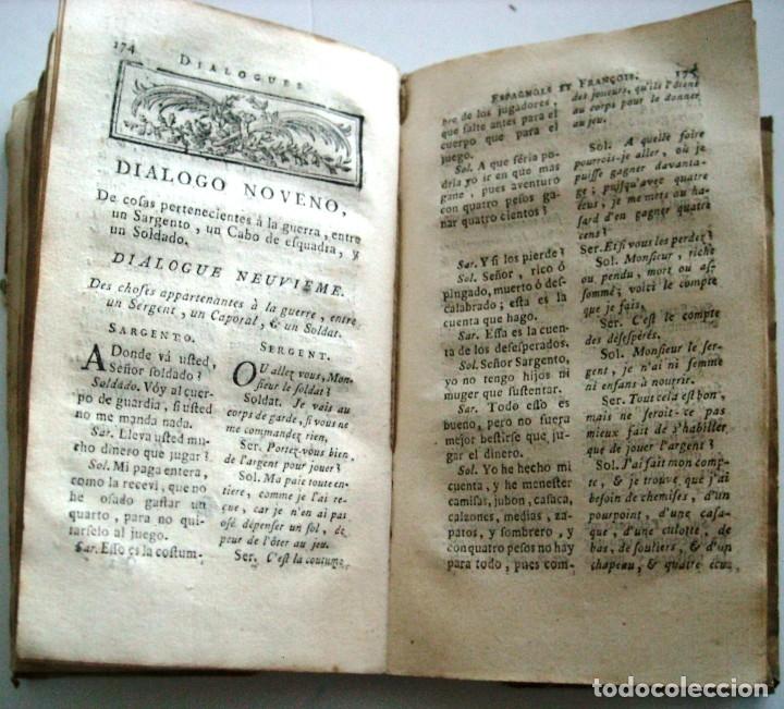 Libros antiguos: SOBRINO - DIALOGOS NUEVOS EN ESPAÑOL Y FRANCES... 1787 - Foto 6 - 172997513