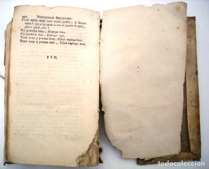 Libros antiguos: SOBRINO - DIALOGOS NUEVOS EN ESPAÑOL Y FRANCES... 1787 - Foto 10 - 172997513