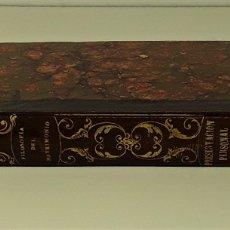 Libros antiguos: HISTORIA DEL HOMBRE Y DE LA MUJER CASADOS. VARIAS EDITORIALES. BARCELONA.1851.. Lote 173111400