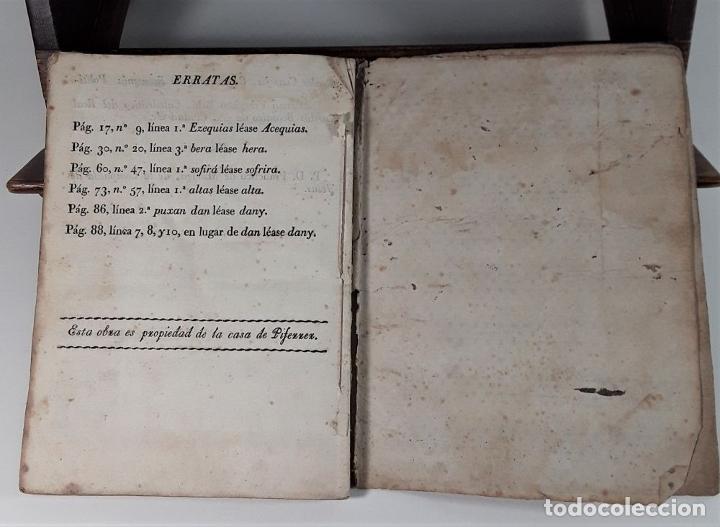 Libros antiguos: COSTUMBRES DE LA CIUDAD DE BARCELONA SOBRE LAS SERVIDUMBRES DE LOS PREDIOS. S/F. - Foto 5 - 175422670