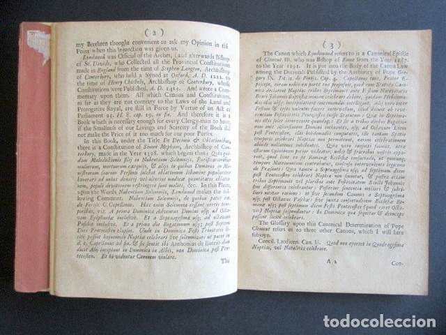 Libros antiguos: AÑO 1709. SOME CONSIDERATIONS ON THE TIMES WHEREIN MARRIAGE IN TWO LETTERS. LONDRES. - Foto 2 - 176086068