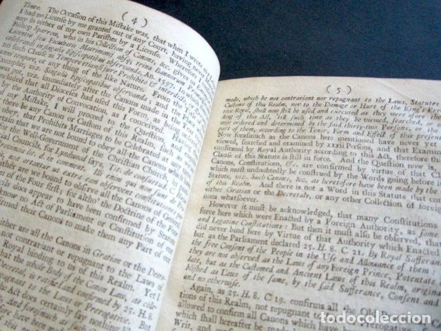 Libros antiguos: AÑO 1709. SOME CONSIDERATIONS ON THE TIMES WHEREIN MARRIAGE IN TWO LETTERS. LONDRES. - Foto 3 - 176086068