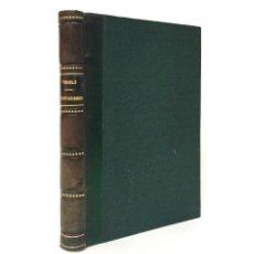 Libros antiguos: ORIENTACIONES Y CONCEPTOS SOCIALES AL COMENZAR EL SIGLO XX / JOSÉ TONIOLO / ((1907)). Lote 176802682