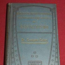 Libros antiguos: (M3.7) DR. GUSTAVO GELEY - ENSAYO DE LA REVISTA GENERAL DEL ESPIRITISMO, EDT MAUCCI. Lote 177403684