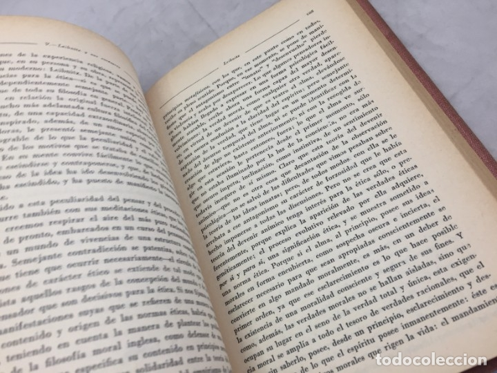 Libros antiguos: La etica moderna, Teodoro Litt, revista de Occidente Madrid 1932 Encuadernado en media piel nervios - Foto 4 - 180951351