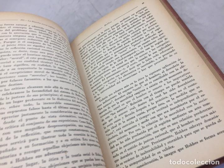 Libros antiguos: La etica moderna, Teodoro Litt, revista de Occidente Madrid 1932 Encuadernado en media piel nervios - Foto 7 - 180951351