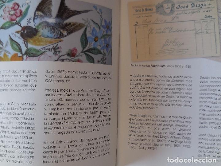 Libros antiguos: LA FABRIQUETA DE SAJIRONDA. ONDA. MÁS DE 100 AÑOS DE CERÁMICA - Foto 2 - 195328420