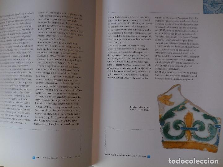 Libros antiguos: MUEL. AZULEJOS ANTIGUOS DEL IMPORTANTE CENTRO ARAGONÉS. - Foto 2 - 237075485