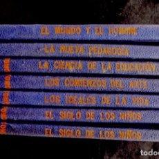 Libros antiguos: BIBLIOTECA SOCIOLOGICA INTERNACIONAL. LOTE DE 7 TOMOS BARCELONA 1906 (MAS DE UN SIGLO DE ANTIGÜEDAD). Lote 183739257