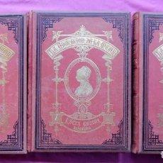 Libros antiguos: 3 TOMOS DE LA EDUCACIÓN DE LA MUJER DEL SIGLO XIX. Lote 186301911