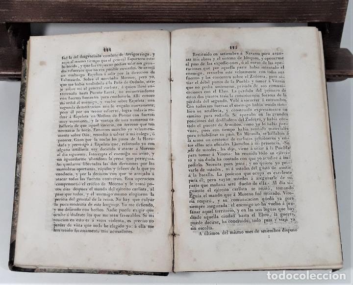 Libros antiguos: MEMORIA JUSTIFICATIVA QUE DIRIGE A SUS CONCIUDADANOS EL GENERAL CÓRDOBA EN VINDICACION. 1837. - Foto 6 - 188556102