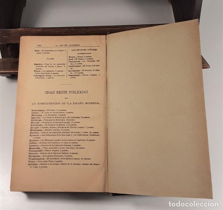 Libros antiguos: CICERON Y SUS AMIGOS. GASTON BOISSIER. EDIT. LA ESPAÑA MODERNA. MADRID. 1900. - Foto 7 - 189144237