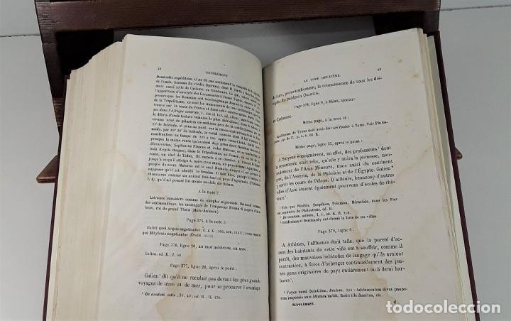 Libros antiguos: MOEURS ROMAINES DU REGNE DAUGUSTE A LA FIN DES ANTONINS. 3 TOMOS. 1867/1874. - Foto 14 - 192873315