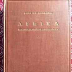 Libros antiguos: AFRIKA KOLONIMAKNER OCH INFÖDDA FOLK. Lote 194689927