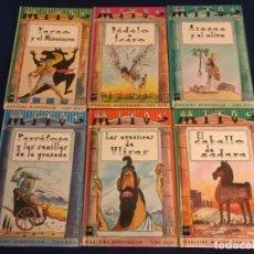 Libros antiguos: MITOS - COLECCIÓN NO COMPLETA - SM (1999). Lote 195330637