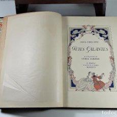 Libros antiguos: FÊTES GALANTES. EJEMPLAR Nº 883. PAUL VERLAINE. EDITOR H. PIAZZA. PARÍS. 1928.. Lote 196982597