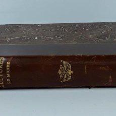 Libros antiguos: LES GRANDES CULTURES DU MONDE. V. SOMEREN. EDITE. ERNEST FLAMMARION. PARÍS.. Lote 197978941