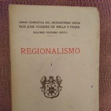 Libros antiguos: REGIONALISMO. Lote 198561877
