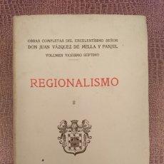 Libros antiguos: REGIONALISMO II. Lote 198562477