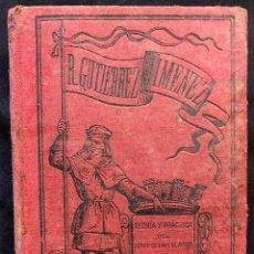 Libros antiguos: TEORÍA Y PRÁCTICA DEL CENSO DE LA POBLACIÓN DE ESPAÑA RAFAEL GUTIÉRREZ Y JIMÉNEZ. 1887.. Lote 203296711