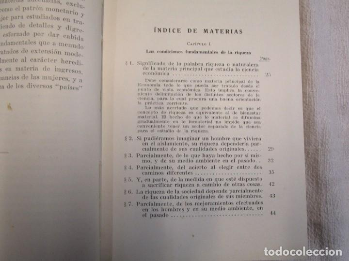 Libros antiguos: LA RIQUEZA - EDWIN CANNAN - COLECCION LABOR Nº376/377 1936 EXCELENTE CORREO 2.40€ + INFO - Foto 3 - 209825926