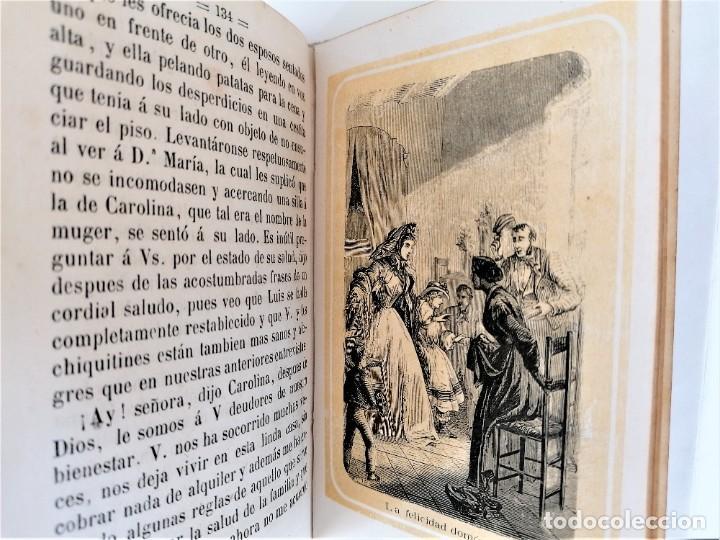 Libros antiguos: LIBRO LOS ALBORES DE LA VIDA,DEDICADA A LAS NIÑAS,AÑO 1863 DE PILAR PASCUAL SANJUAN,FEMINISMO DE XIX - Foto 6 - 218493850