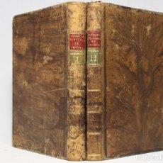 Libros antiguos: HISTORIA NATURAL Y MORAL DE LAS INDIAS. JOSÉ DE ACOSTA. MADRID. PANTALEÓN AZNAR. 1792. 2 VOLS.. Lote 222399283