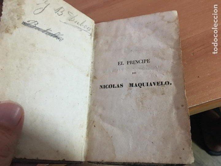 Libros antiguos: EL PRINCIPE DE MAQUIAVELO. AÑO 1824 (COIB153) - Foto 3 - 222643948