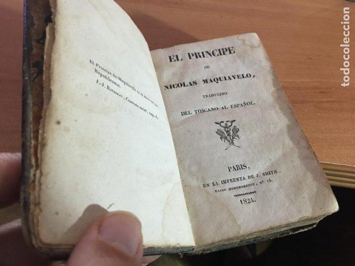 Libros antiguos: EL PRINCIPE DE MAQUIAVELO. AÑO 1824 (COIB153) - Foto 5 - 222643948