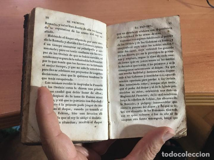 Libros antiguos: EL PRINCIPE DE MAQUIAVELO. AÑO 1824 (COIB153) - Foto 7 - 222643948