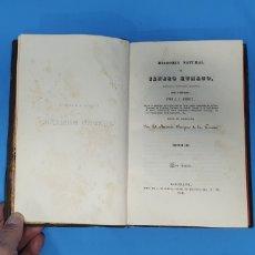 Libros antiguos: HISTORIA DEL JÉNERO HUMANO - J. J. VIREY - TOMO III - BARCELONA 1835. Lote 227975140