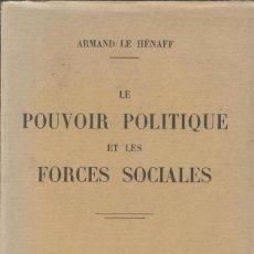 Libros antiguos: ESSAIS D'HISTOIRE SOCIALE: I. LA GRECE ANTIQUE DE JOSEPH LAURENT. Lote 228334243