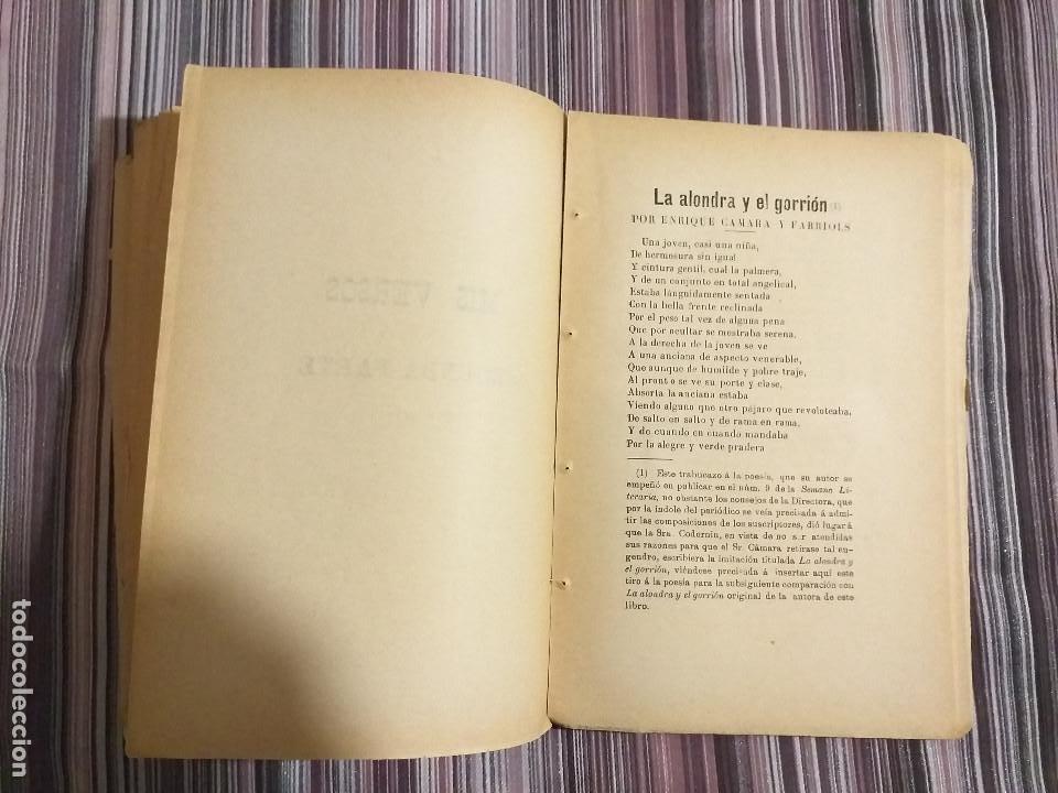 Libros antiguos: 1894 JULIA CODORNIU MIS VERSOS INIQUIDADES DE LA LEY PARA CON LA MUJER CASADA FEMINISMO S. XIX - Foto 5 - 232066215