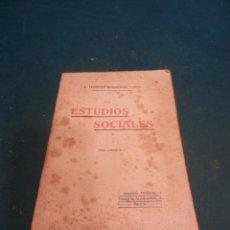 Libros antiguos: ESTUDIOS SOCIALES TEODORO, VOL. I - POR EL P. TEODORO RODRÍGUEZ (AGUSTINO) IMPRENTA HELÉNICA 1912. Lote 243124710
